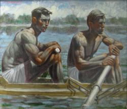 2 Men Rowing_T